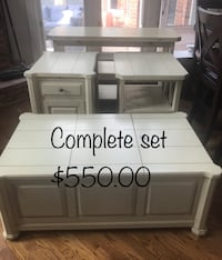 Living room furniture in great condition, only selling because of a move. Some tables have storage compartments Clinton Township, 48038