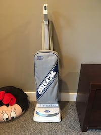 black and white Oreck upright vacuum cleaner Augusta, 30906