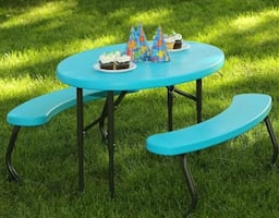 Kids Pinic Bench - Delivery