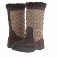 Brand New COACH Sherman Snow Boots. Size 6