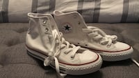 pair of white Converse All Star high-top sneakers Killeen, 76542