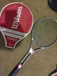 two red and white Wilson tennis rackets Columbus, 43204