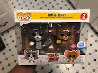 Funko Pop Animation Flocked Tom and Jerry 2-Pack Exclusive Rockville, 20853