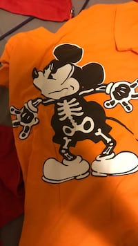 orange and black Mickey Mouse print textile Tampa, 33616