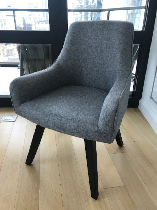 Awesome Crate And Barrel Harvey Black Swivel Armchair Desk Chair Uwap Interior Chair Design Uwaporg