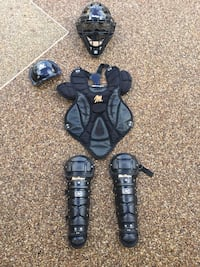 MacGregor youth catcher's gear, items are in Cape Coral FL Cape Coral