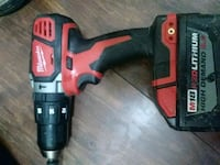 black and red Milwaukee cordless power drill Victorville, 92392