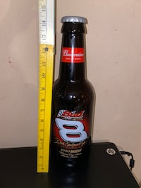 Vintage 2000 Budweiser Glass Bottle NASCAR Dale Earnhardt Jr. 2000 San Juan, 78589
