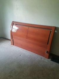 Headboard with matching nightstand. Speedway, 46224