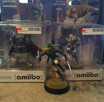 Zelda Smash Bros Amiibos Set