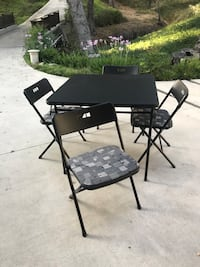 Card table & 4 Chairs Glendale, 91206