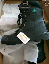 Men's steel toe boots / Botte Avec Cap d'acier New 785 km