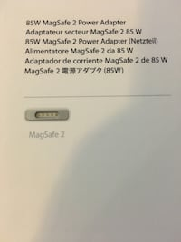 Macbook charger Magsafe 2 Bois-des-Filion, J6Z 3M2