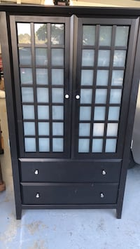black wooden cabinet with drawer Belmont, 94002