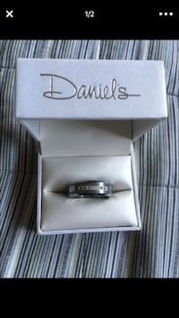 silver and black Pandora ring Fresno, 93725