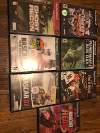 PlayStation 2 games Lubbock, 79403