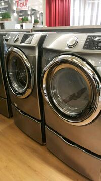 two gray front-load clothes washer and dryer set Ottawa, K1A 0E4