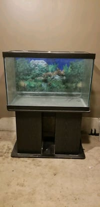 67 Gallon Aquarium with Stand Only