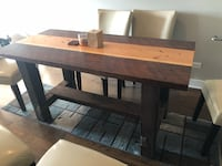 Reclaimed wood dining table Chicago, 60642