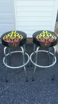 Bar stools with flames graphic Granite Falls, 28630