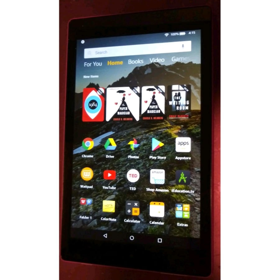 Amazon Fire Kindle/tablet