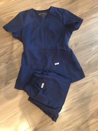 2 sets of navy blue scrubs Arlington, 22202