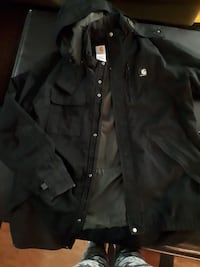 black Carhartt button-up windbreaker Edmonton, T5Z 2X4