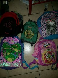 Backpacks 3-$5 or take all for $7 San Benito, 78586