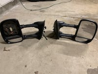 Ford Superduty power tow mirrors