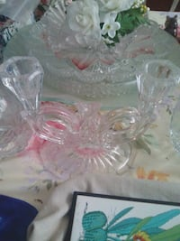 clear glass candle holder Las Vegas, 89129