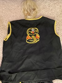 Adult Cobra Kai Costume with Wig Lake Forest, 92630