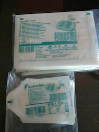 two white paper packs