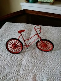 Miniature bicycle for garden