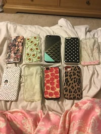 nine assorted-color iPhone cases Marysville, 95901