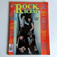 Vintage 1980's Rock Scene Magazine November 1980 The Clash Cover