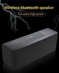 New Design Super Bass Loudspeakers Bluetooth Speaker With FM Radio