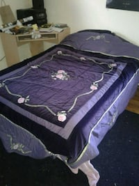 Queen kids bed with comforter and sheets.  Vallejo, 94591