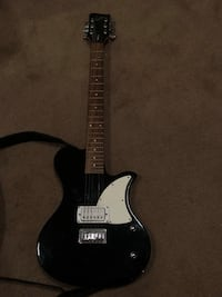 Black and white electric guitar Davenport, 52807
