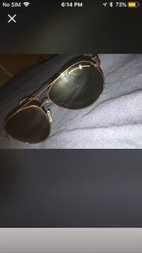 gold-colored framed sunglasses Surrey, V3W 3L1