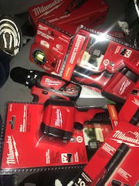 Red and black milwaukee power tool set Silver Spring, 20904