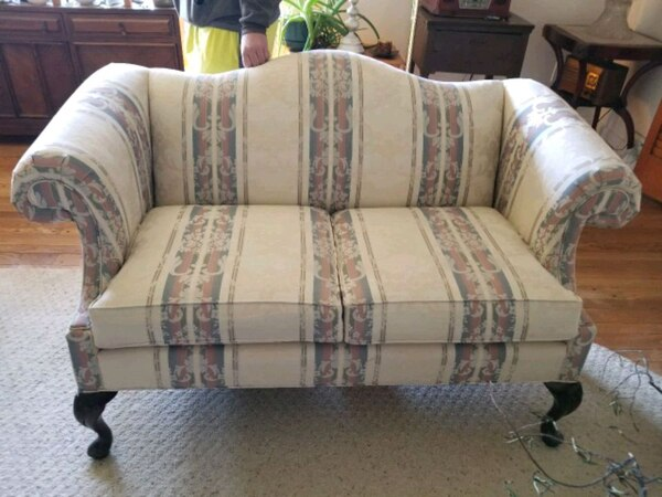 Used Formal living room sofa & loveseat & chair in exce for sale in ...