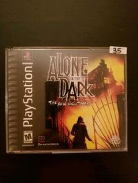 Alone in the Dark the New Nightmare for PS1 Vaughan, L4L