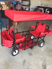 Creative Outdoor easy foldable childrens wagon Oceanside, 92058