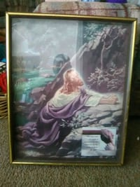 Picture of Jesus in a frame 14 x 24 in Pueblo, 81005