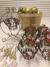 46-Piece Gold and Crown Ornaments. Rockville, 20850