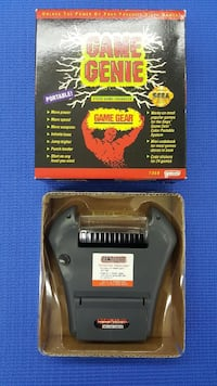 Game genie for ( GAME GEAR )