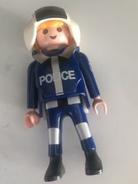 3inch police action figure