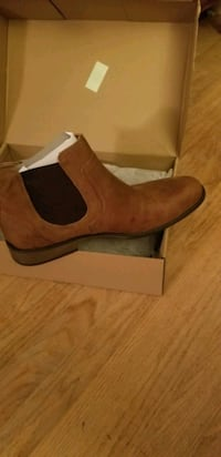 Men's Leather Ankle Boots size 12