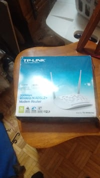TP-Link modem router box Kingston, ON, Canada