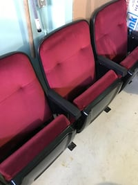 Black and Red Home Theatre Seats Vaughan